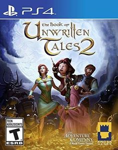 The Book of Unwritten Tales 2 - PlayStation 4 Standard Edition