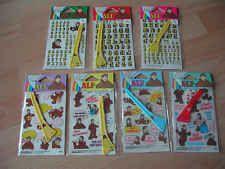 NEU * 3 x ALF Rubbelbilder - Buchstaben oder Bilder * KEINE AUSWAHL