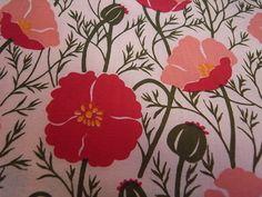 Poppy Print Fabric