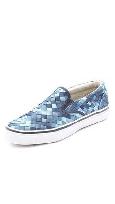 Sperry Striper Webbing Slip On Shoes