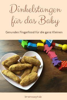 Dinkelstangen für das Baby backen: zuckerfrei und ohne Ei zum Knabbern ab Beikost-Reife. Die Dinkelstangen mit Möhren sind ein tolles Fingerfood und eignen sich im Rahmen einer Baby Led Weaning Ernährung als Beikost (BLW). Hier geht es zum Rezept: http://www.breirezept.de/rezept_dinkelstangen_ohne_zucker.html