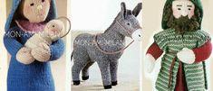 Craft Patterns, Knitting Patterns, Modern Toys, Christmas Patterns, Christmas Ornaments, Xmas Crafts, Stuffed Toys Patterns, Nativity, Alan Dart