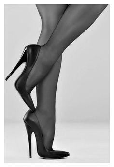 Perfect heels #hothighheelsstilettos #blackhighheelsstockings