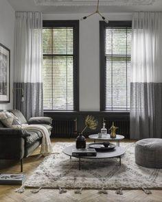 stijlvol grote ramen bekleden