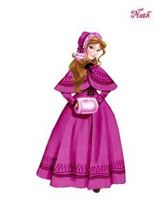 Disney- Belle Disney Princesses And Princes, Disney Princess Art, Disney Fan Art, Disney Style, Disney Pixar, Disney Movie Characters, Disney Movies, Cool Cartoons, Disney Cartoons