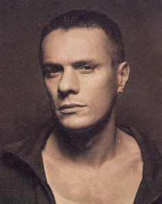 Larry Mullen Jr - I've been in love with this man since 1981.  Somewhere in this world that must make us married!