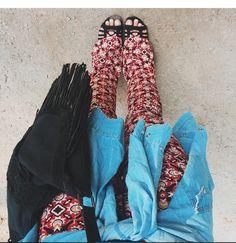 Jeans/estampa