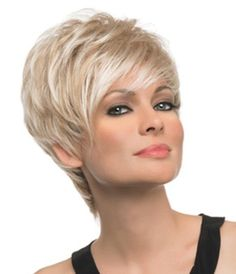 Today we have the most stylish 86 Cute Short Pixie Haircuts. We claim that you have never seen such elegant and eye-catching short hairstyles before. Pixie haircut, of course, offers a lot of options for the hair of the ladies'… Continue Reading → Short Grey Hair, Short Hair Cuts For Women, Haircut For Thick Hair, Pixie Haircut, Short Hairstyles For Women, Wig Hairstyles, Short Haircuts, Pretty Hairstyles, Wilshire Wigs