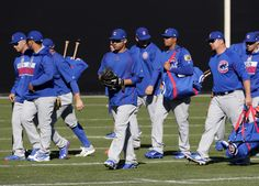Observations from the first week of spring training camps = This past week, we stopped at five spring training facilities: The Chicago Cubs, Cleveland Indians, Oakland Athletics, San Diego Padres and Arizona Diamondbacks. Here were some takeaways from each camp…..