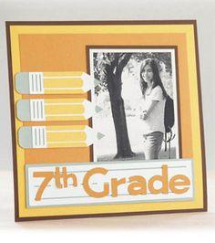 Cricut Mini - School 7th grade layout: Kids & Teens Projects: Shop   Joann.com