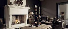 interieur Home, Decor, Fireplace