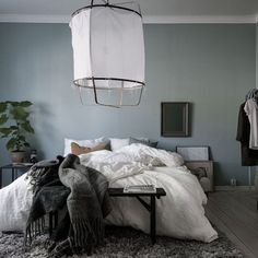 Cozy bedroom. Styling by @styledbyemmahos for @bjurfors_goteborg