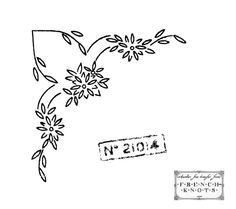 Briggs Embroidery Transfer Patterns