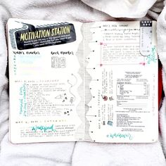 kimching232: collection of spreads for the month... - JOURNAL INSPIRATION