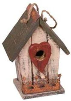 Garden Decoration 12038C Birdhouse 95Inch Cream ** Want to know more, click on the image.
