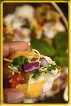 Dahi Batata Puri #streetfood #food #recipe
