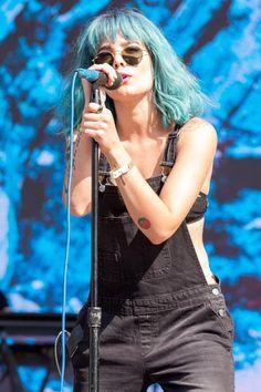 Halsey at Billboard Hot 100 - Music Festival 2015