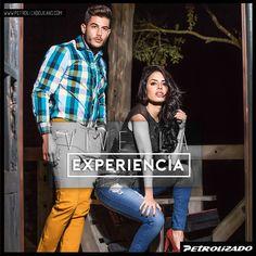 Vive la experiencia, PETROLIZADO JEANS, prendas  para hombres y mujeres. #PetrolizadoJeans #Jeanscolombianos #Jeanslevantacola #modafemenina #modamasculina