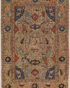 """""""Carpets for Kings: Six Masterpieces of Iranian Weaving,"""" on view in gallery 458, features six small Iranian carpets of the 16th and 17th centuries that have recently been conserved by the Department of Textile Conservation thanks to the proceeds from the Museum's annual celebration of the Persian New Year, the NoRuz at The #MetGala (2013).The six carpets exhibited are considered masterpiece weavings for both the excellence of their design and the high quality of their execution. Carpet…"""