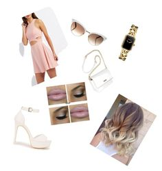 Untitled #6 by nicole0710 on Polyvore featuring polyvore мода style Charlotte Russe Nly Shoes Chanel Gucci fashion clothing