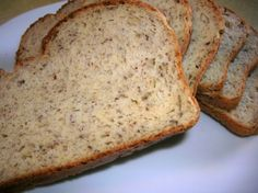 My own recipe, comes out fluffy and nice and need not be frozen. Healthy and full of nutrition, as opposed to rice flour based breads. Can be vegan* This was the foundation recipe of my cookbook - after all of these (and so many others) fantastic reviews, I was inspired. Please check out my book at http://laurie.ecrater.com