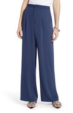 d10ff597a6f Something Navy Relaxed High Waist Pants (Nordstrom Exclusive)