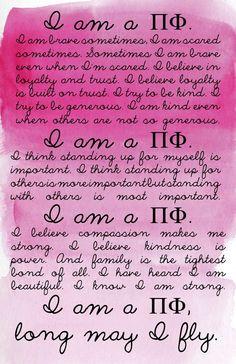 I am a Pi Phi #piphi #pibetaphi