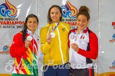 #TierraPlus #Colombia: nadadora Karen Torrez, consiguió histórica medalla de oro para Bolivia en los Juegos Bolivarianos. http://htl.li/c8oj30gMopN #Bolivia