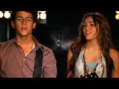 Jonas Brothers Feat Miley Cyrus & Demi Lovato And Selena Gomez - Send It On (HQ + Lyrics) - YouTube