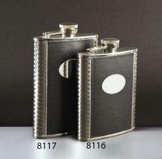 Franmara Deluxe LeatherBound CaptiveTop Pocket Flask 8 oz ** For more information, visit image link. (This is an affiliate link) #LiquorWineFlasks