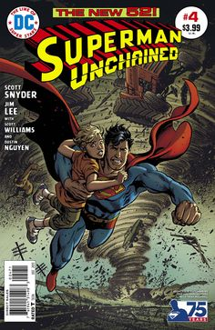 Superman Unchained #4 Variant by Jose Luis Garcia-Lopez