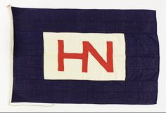 House flag, Hain Nourse Management Ltd - National Maritime Museum Anti Flag, Men's Bedding, New Project Ideas, Navy Day, Nautical Flags, Merchant Navy, Wall Banner, Utila, Maritime Museum