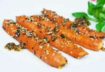 Karamelizovaná mrkev / mrkvové parky Chapati, Carrots, Vegetables, Food, Essen, Carrot, Vegetable Recipes, Meals, Yemek