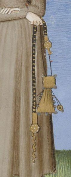 Publius Terencius Afer, Comoediae [comédies de Térence]. -- 1400-1500 -- manuscrits - 'chastity' belt ?