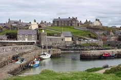 Portsoy, Scotland...  my favourite little place in the whole world