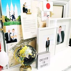 Great ideas for missionary farewell. The decor is FAB! Heidi Swapp