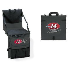 NASCAR Tony Stewart Seat Cushion Cooler with Back by BSI. Save 7 Off!. $36.33. These Cooler Cushions are made of durable tetron and for comfort, the cushion back has adjustable side straps and, for strength, a wood backing in the seat back. The cooler pocket hangs in front, putting your beverage within easy reach. When closed, drinks stay cold for hours. Pouch capacity is eight 12 oz cans with ice. The mesh covering keeps your legs from sticking to the seat on a hot day and the bench ...