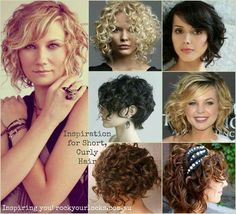 Some great solutions for curly hair