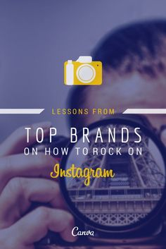 Lessons From Top Brands on How to Rock on Instagram http://www.entrepreneur.com/article/234286