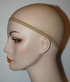 Net Wig Cap Liner Nylon Standard Costume Glamour Theatrical Nude Makeup Hair | eBay. This Wig Cap is essential to comfortable and successful wig wearing. This breathable net wig cap stretches to cover your own hair, helping to hold hair in, so it won't stick out from under the wig. After you have the wig cap securely in place, put the wig on over the top of the wig cap. Hair can be pushed under a net wig cap to make a wig fit smoother.