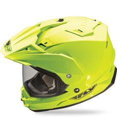 Fly Racing Trekker Adventure Touring Dual-Sport Motorcycle Helmet - White c2c8f5f47