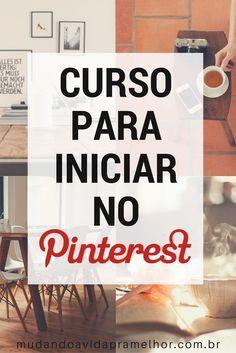 Curso para iniciar no Pinterest