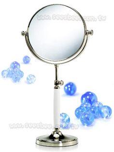 歐美最新可調整型雙面彩妝鏡(1X/5X)純銅材質、陶瓷握把 Shop Smart, Ecommerce, Personalized Items, Mirror, Home Decor, Decoration Home, Room Decor, Mirrors, E Commerce
