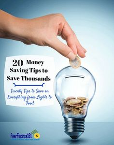 Check out these 20 simple money saving tips that anyone can use to save more than $7,500 a year! Save money on any budget.