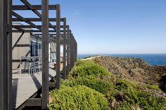 Para relaxar no alto da montanha. Casa chilena ganha estrutura especial
