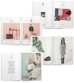 springfield lookbook #layout #graphicdesign