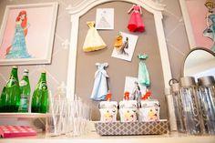Disney Princess Fashion Show Project Runway Birthday Party with So Many CUTE Ideas via Kara' s Party Ideas | KarasPartyIdeas.com #ProjectRunway #Royal #DisneyPrincess #PartyIdeas #Birthday #Supplies