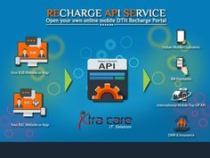 #Xtracare #It #India's largest #Online #Recharge #API, #Mobile Reachrge API , #DTH Reacharge API Provider #Company in #Delhi, #Haryana, #UP, #many more cities in #India.  More Information: www.xtracareit.com/pages/recharge-apI-service