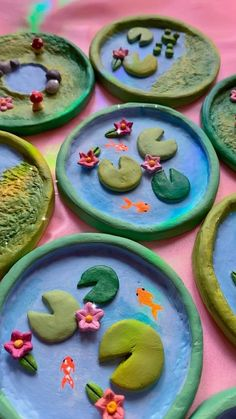 Air Dry Clay Crafts, Diy Resin Crafts, Diy Clay Rings, Clay Plates, Paper Mache Clay, Clay Art Projects, Cute Clay, Clay Sculptures, Ceramic Clay