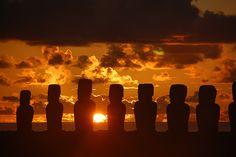Beautiful Sunrise @ Easter Island